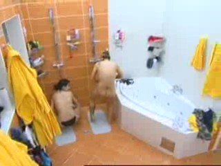 Big Brother Czech – Shower and Shave